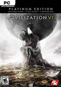 (PC) Civilization VI Platinum Edition - £23.99 @ CDKeys