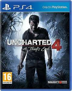 Uncharted 4: A Thief's End (PS4) £9.65 Delivered @ Evergameuk / eBay