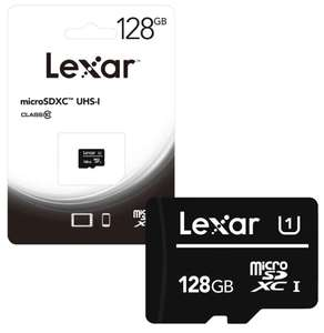 Lexar MicroSDXC MicroSD Memory Card Class 10 UHS-1 80 MB/s - 128GB for £13.99 Delivered @ 7dayshop