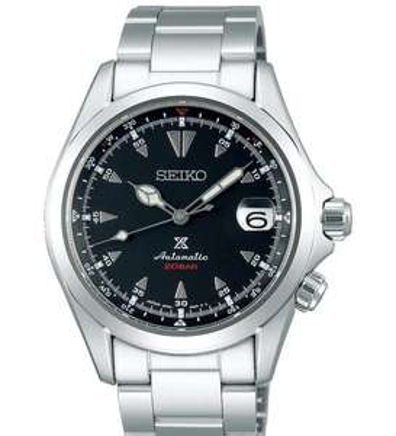 "Seiko Men's Stainless Steel ""Alpinist"" Automatic Prospex Watch SPB117J1 £585 @ Hillier Jewllers"