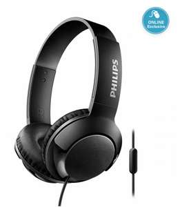 Philips SHL3175 Bass Plus wired Over-ear Headphones with Mic - Black for £4.50 With Code @ Ryman (Free Click & Collect)