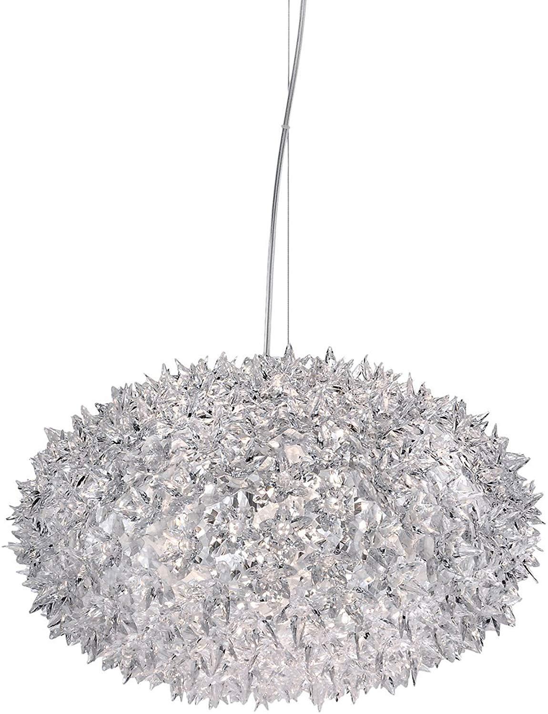 Kartell Bloom Lamp - S1 Crystal / Transparent - Designer LED Ceiling Light - £180.90 @ Amazon