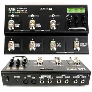 Line 6 M9 multi-effects pedal for electric - £209 @ Gear4music