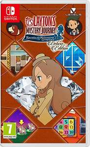 Layton's Mystery Journey: Katrielle and the Millionaires' Conspiracy (Nintendo Switch) £26.99 at Amazon