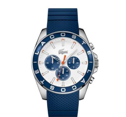 Lacoste Men's Blue Silicone Strap Watch £59.99 @ Argos