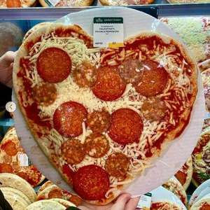"""Heart shaped Valentine 14"""" Double Pepperoni Pizza (and other flavours) at Morrison's - only £3.00"""