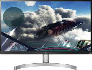 """LG 27UL600-W 27"""" Class 4K UHD IPS LED Monitor with VESA DisplayHDR 400, £252.35 delivered at Novatech"""