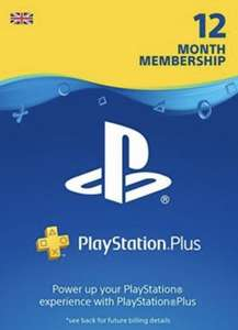 PlayStation Plus 12 Month Subscription (UK) - £36.22 (with FB code) @ ElectronicFirst