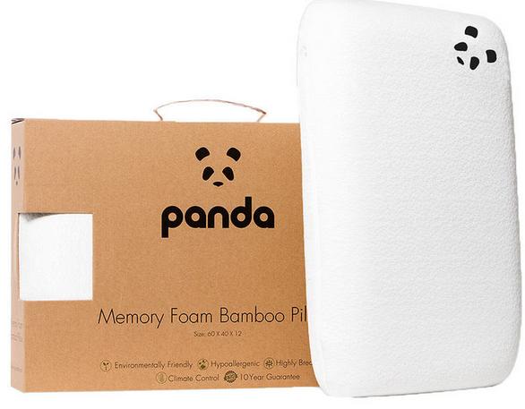 Panda Memory foam Bamboo pillow - £32.89 or 2 for £51.78 @ Costco