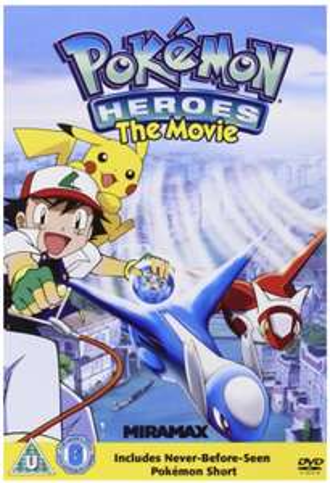 Pokemon Heroes DVD £1.65 prime / £4.64 non prime @ Amazon