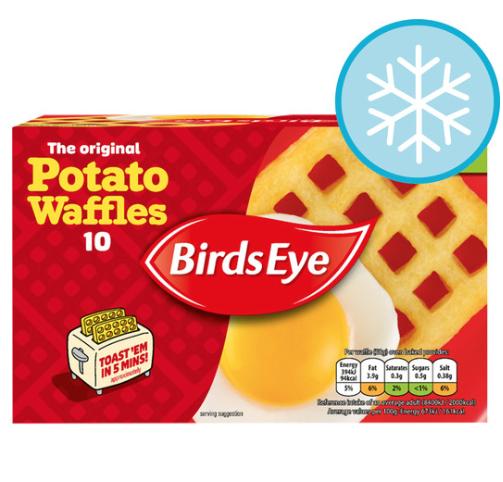 Birds Eye Potato Waffles x10 (567g) £1 @ Tesco