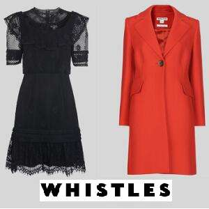 Final Reductions - Up to 70% Off Sale + Free Delivery & Free Returns @ Whistles
