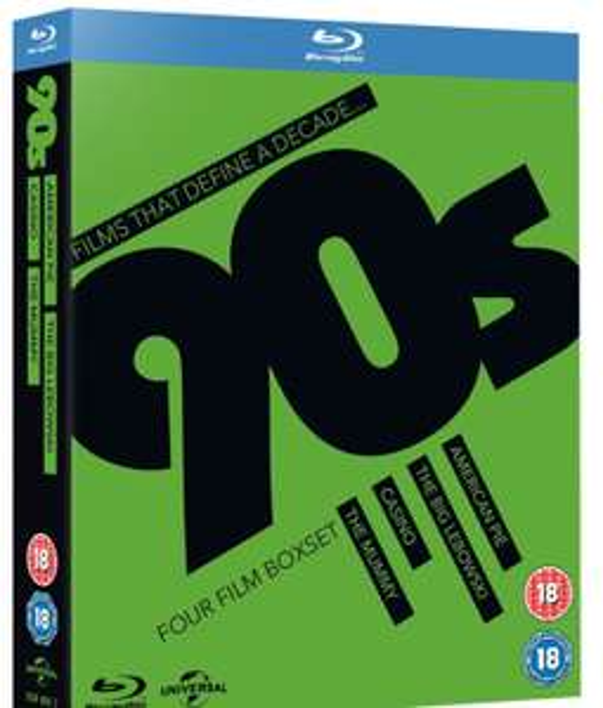 Films That Define a Decade: '90s (Box Set) The Mummy/Casino/Big Lebowski/ American Pie - £4.49 Delivered