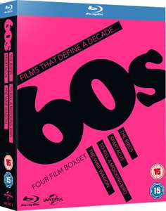 Movies that define a decade 60s the birds,Spartacus,To kill a mockingbird,the war wagon 4 movies blu ray £4.49 @ zoom