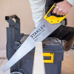 """Stanley Tradecut First Fix Handsaw 550mm (22"""") - £4.99 @ ToolStation (Free click and collect)"""