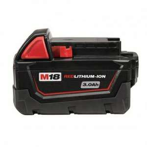 Milwaukee M18Bx M18 3.0Ah Red Lithium-Ion Battery (free Delivery) £25 @ Powertoolmate