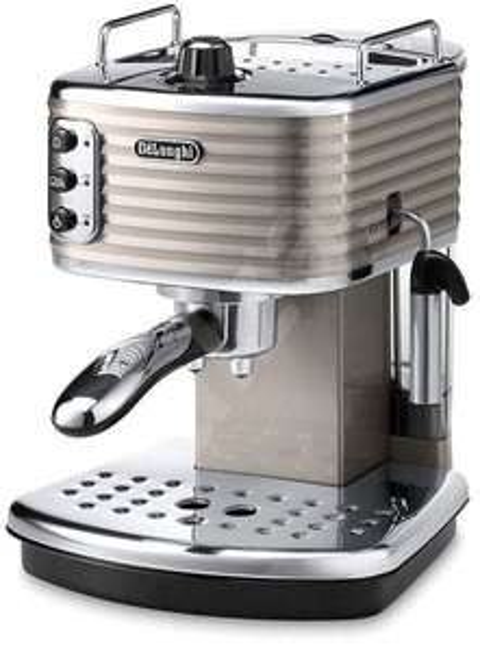(Used) De'Longhi ECZ351BG Scultura Traditional Pump Espresso Machine, 1100 W, Champagne £41.09 / Black £46 @ Amazon Warehouse