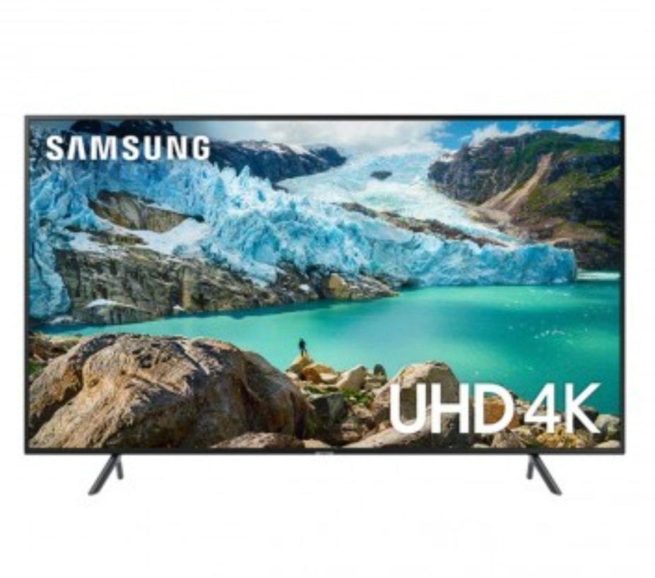 "Samsung UE43RU7100KXXU 43"" Ultra HD certified HDR Smart 4K TV + 2 Free 4k £299 With Code @ PRC Direct"