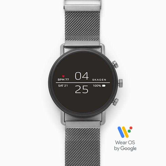 Skagen Falster 2 Grey Magnetic Steel-Mesh Smartwatch £89.99 @ Skagen Store