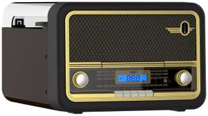 Bush Classic Retro Record Player - Black / Gold £61.99 at Argos