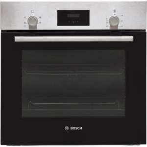 10% off Bosch Lg Kitchen Appliances, Bosch Serie Built In Electric Single Oven Stainless Steel A Rated £260.10 Delivered w/code from AO.com