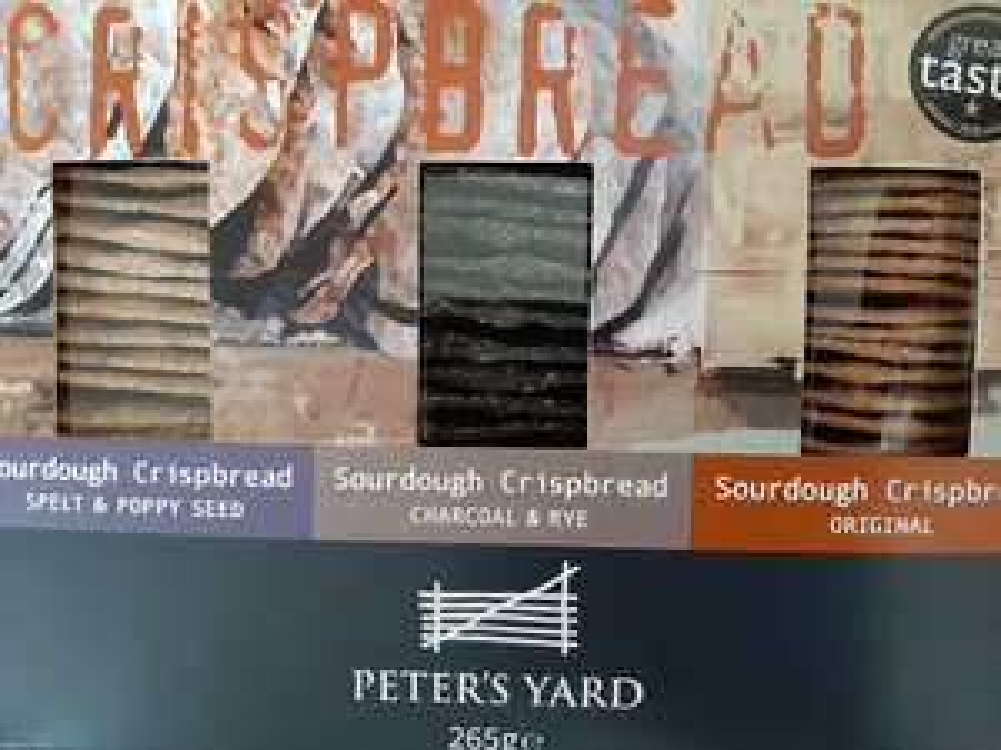 Peter's Yard Sourdough Crispbreads 200g, 70p @ Sainsburys Hanley