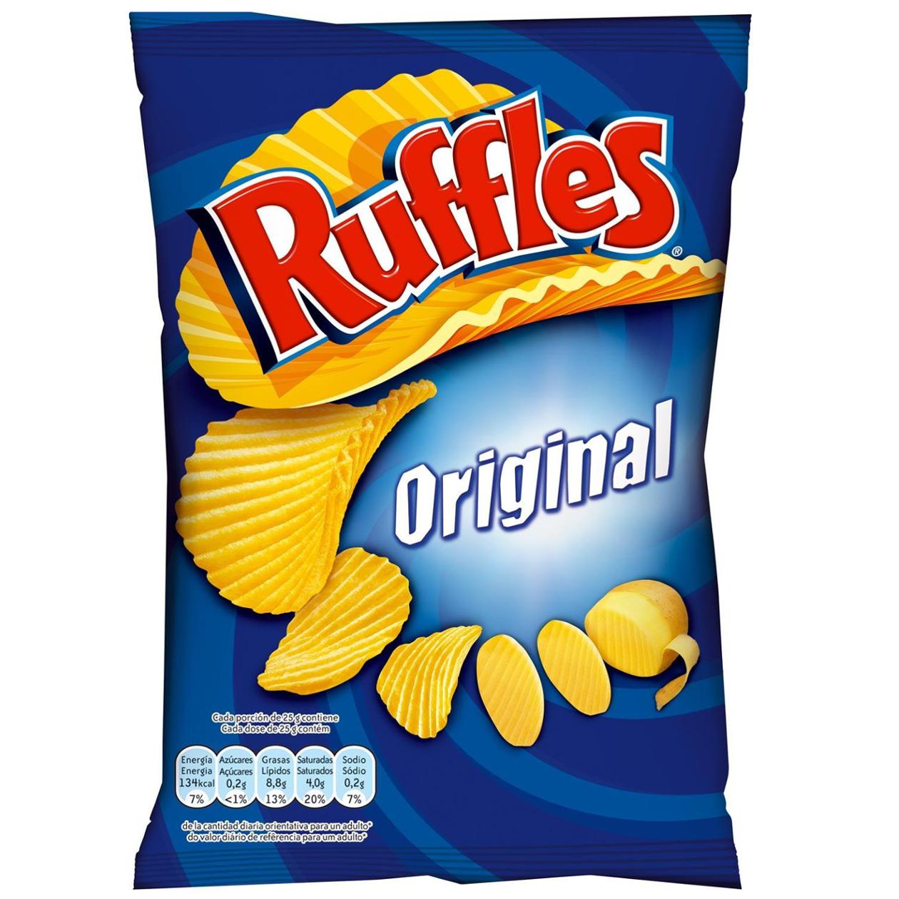 Ruffles Ready Salted Crisps £1 at Heron Foods Hull