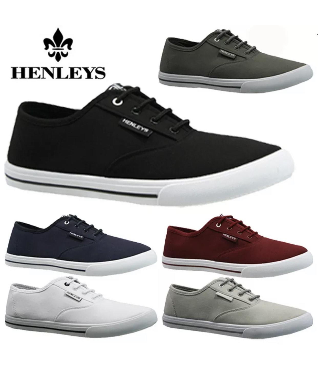 Men's Henleys trainers £9.95 @ shoe_studio ebay uk