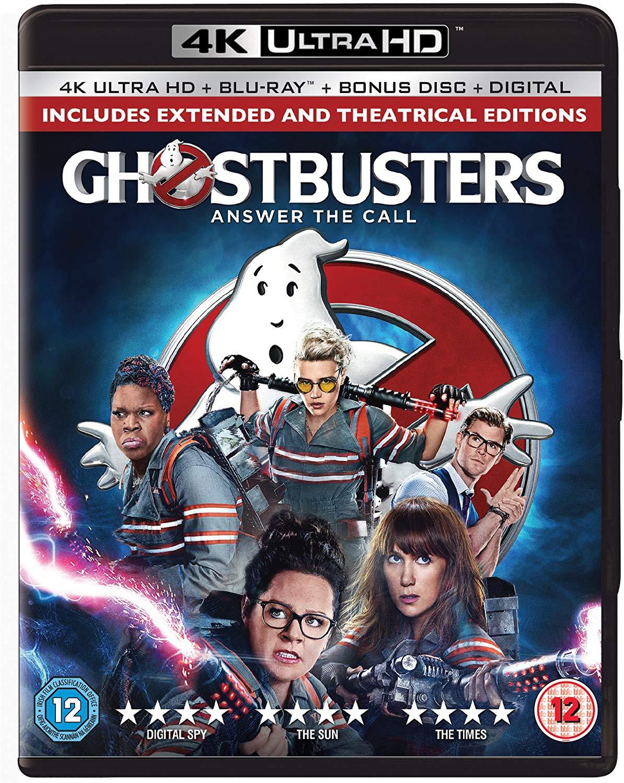 Ghostbusters 2-Disc 4K Ultra HD & Blu-ray [2016] [Region Free] £6.99 (Prime) £9.98 (Non Prime) @ Amazon