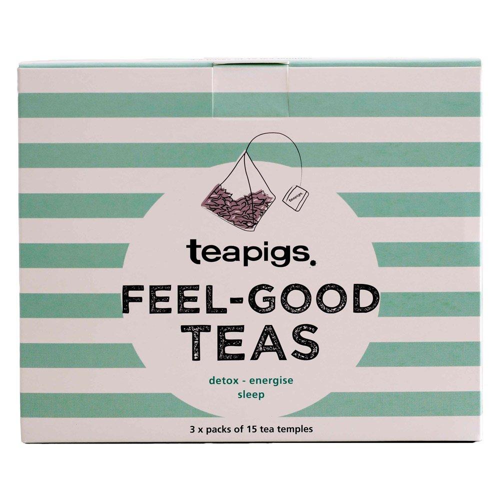 Teapigs Feel-Good teas 3 box £5.38 (Prime) / £9.87 (non Prime) at Amazon