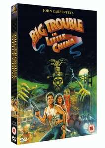 Big Trouble In Little China DVD now £2.99 (Prime) + £2.99 (non Prime) at Amazon