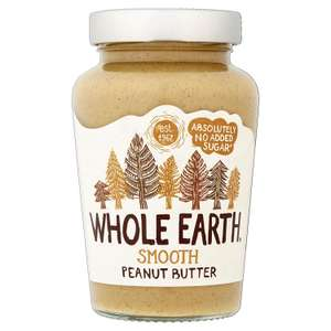 Whole Earth Smooth Peanut Butter, 454g now £2 at Amazon Pantry (£3.99 Delivery)
