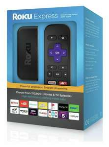 Roku Express HD Streaming Media Player £14.5 @ Tesco (Stevenage Extra)