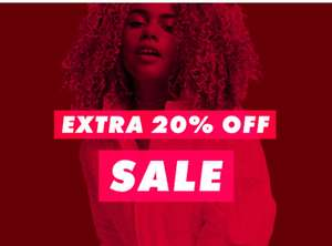 Extra 20% off! 7-9pm only at ASOS with code