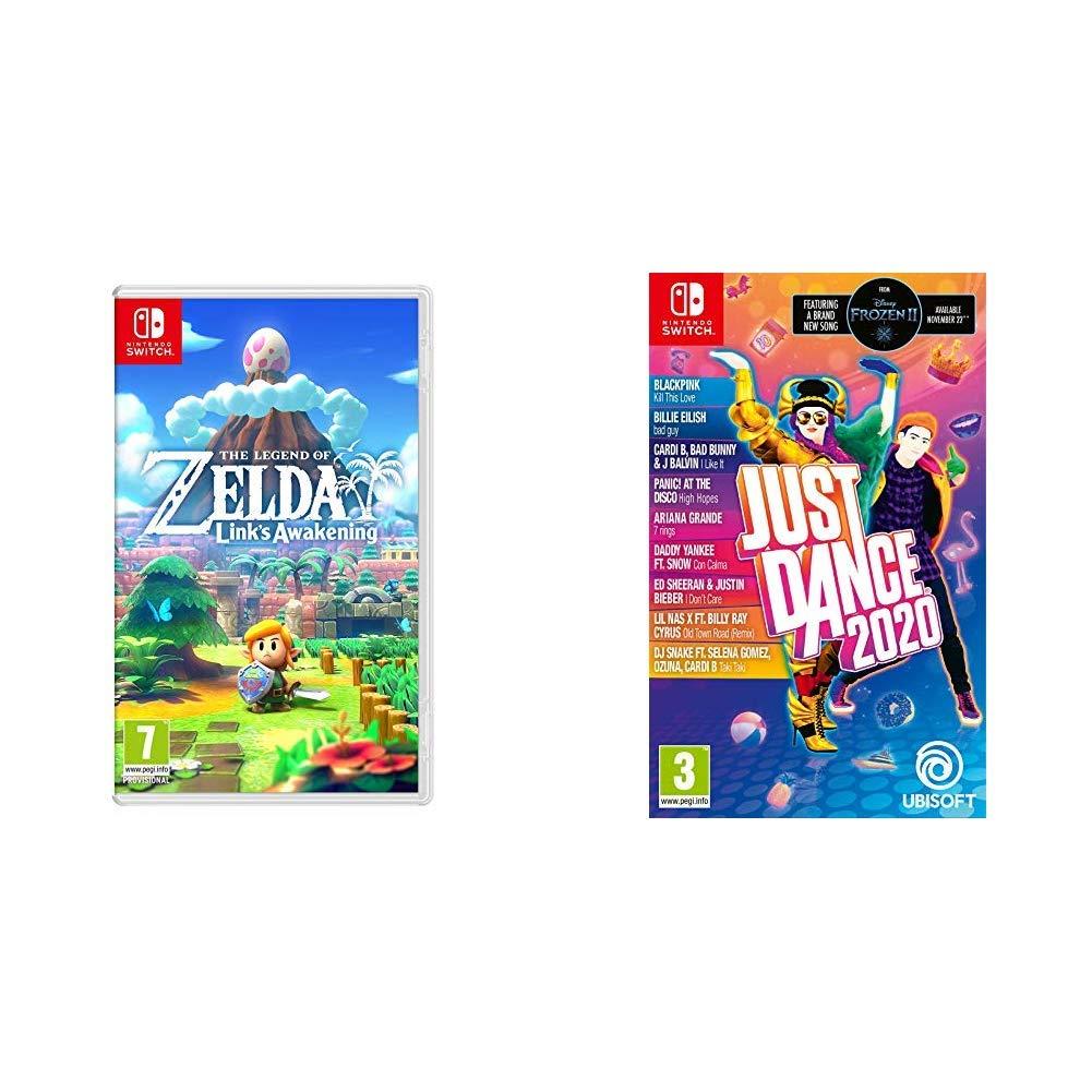 Just Dance 2020 + Legend of Zelda Link's Awakening - Nintendo Switch Standard Edition £54.99 @ Amazon