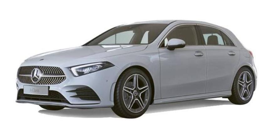 Mercedes A200 AUTO Premium - Metalic Grey - Adavance nav - aluminium trim total cost £12,383.16 at Nationwide Vehicle Contracts