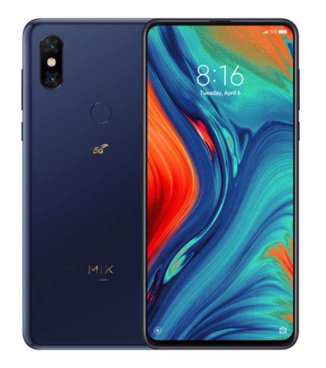 Mi MIX 3 5G 6GB+128GB,Blue £299 at Xiaomi UK