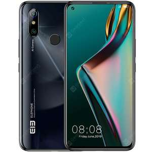 ELEPHONE U3H 6.5inch Android 10.0 Mobile Phone 6G 128G Octa Core 24MP Selfie 48MP Camera Helio P70 Smartphone £151.67 @ Deal Extreme DX