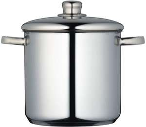 Induction-Safe Stainless Steel Stock Pot with Lid (5.5 L) £17.99 @ Amazon (+£4.49 non-prime)