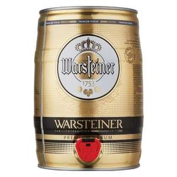 Warstiener 5lt keg £10 in store at B&M Stores (Stockton)
