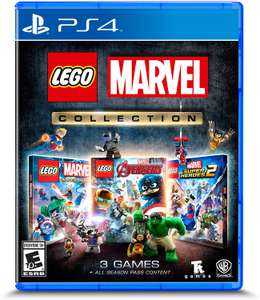 Lego Marvel Collection (Includes 3 games & All DLCs) - (PS4/box One) £22.80 Delivered @ Amazon Global Store (Via Amazon US)