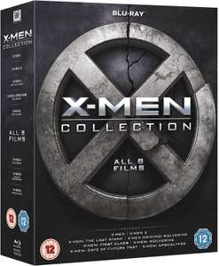 X-Men Collection (8 Films) (Blu-ray Boxset) £7.99 delivered @ The Entertainment Store / eBay