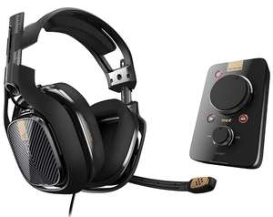 ASTRO Gaming A40 TR Headset + MixAmp Pro TR Gen 3 with Dolby 7.1 Surround Sound, Compatible with PlayStation 4, PC, Mac-£149.99 @ Argos
