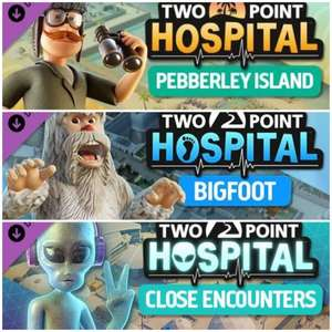[Steam] Two Point Hospital (DLC'S) (PC) - Pebberley Island - £2.69 / Bigfoot - £2.69 / Close Encounters - £3.59 with code @ 2game