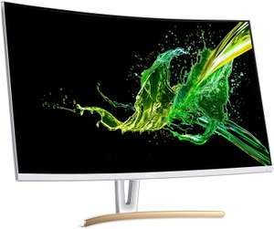 Acer ED323QURwidpx 31.5 inch WQHD 1800R Curved Monitor (VA,75Hz,Freesync,4ms,ZeroFrame,DP,HDMI,DVI,White) - £169.83 delivered @ Amazon Italy