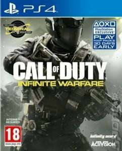 Call of Duty: Infinite Warfare (PS4) Very Good condition - £4.98 at eBay / Music Magpie
