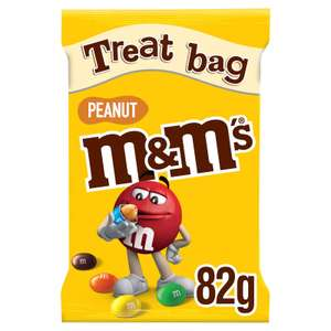 M&M's peanut Treat bag 82g bag - 69p at Lidl (Essex)