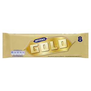 Mcvities Gold Bar 8x22g pack 80p @ Sainsbury's Forest Hill, London.