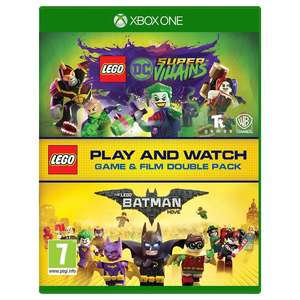Lego DC Super Villains XBOX ONE with Batman Lego Movie Blu Ray Double Pack £14.95 @ The Game Collection