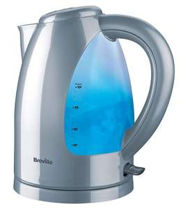 Breville Illuminated 3000W 1.7L Jug Kettle - Silver for £13.49 with Code (Free Click & Collect) @ Robert Dyas